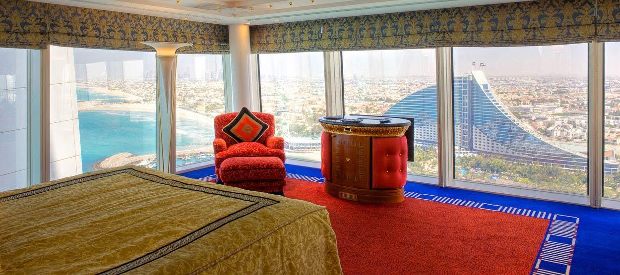 Burj al arab dubai honeymoon packages honeymoon dreams for Burj al khalifa hotel rooms