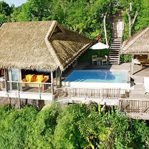 six sense yao noi ocean panorama pool villa