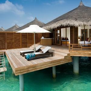 Kuramathi island - Maldives - water villa