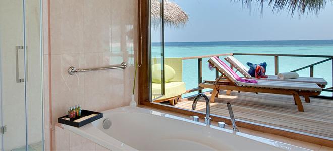 maafushivaru maldives - Water villa Bathroom