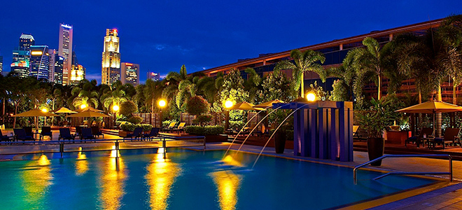 Marina mandarin singapore honeymoon packages honeymoon for Pool garden marina mandarin