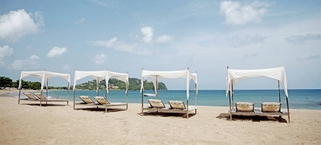 Luxury - Holidays - St Lucia - Rendezvous Hotel - Beach 2