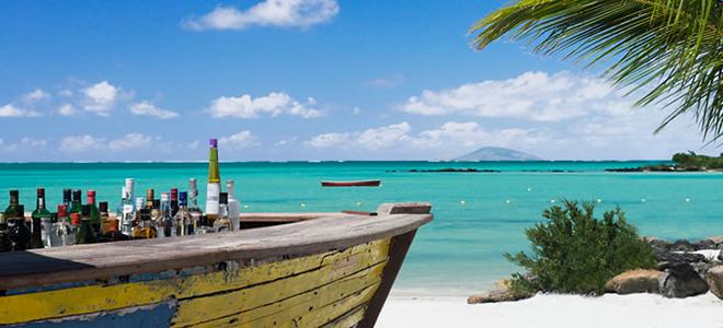 ziwala attitude - mauritius luxury holidays - rum bar