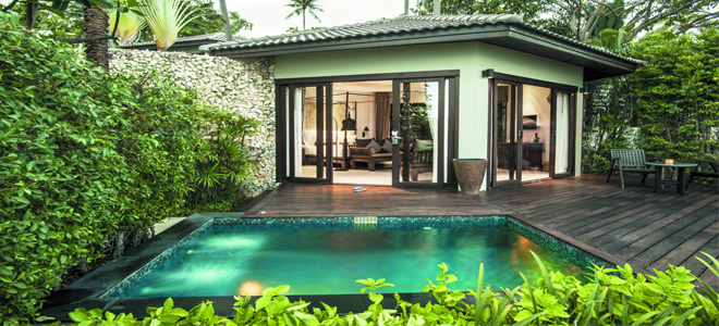 Outrigger beach resort honeymoon dreams honeymoon dreams for Garden pool villa outrigger koh samui