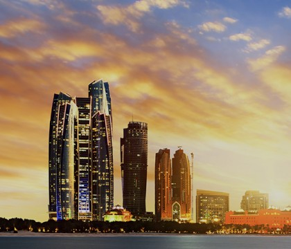 a picture of Abu Dhabi