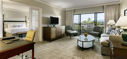 Fairmont orchid the big island honeymoon dreams for Executive garden rooms
