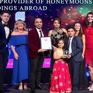 mawa awards 2017 - multi award winning honeymoon specialists - luxury honeymoon holiday packages