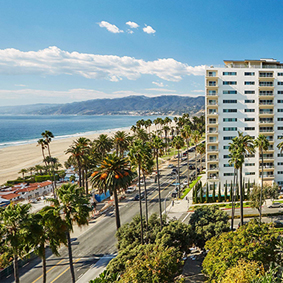 thumbnail - Fairmont Miramar Hotel and Bungalows - luxury los angeles honeymoon packages