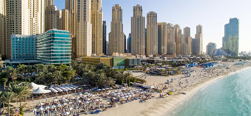 Hilton dubai jumeirah beach honeymoon dreams honeymoon for Best hotels in dubai for honeymoon