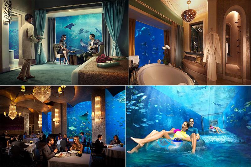 Underwater Restaurant Atlantis The world's most amazi...