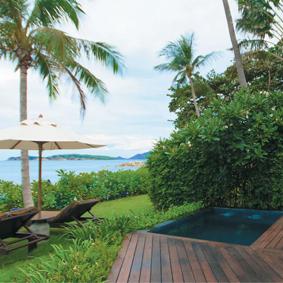 outrigger koh samui - thailand and dubai multi centre - thailand multi centre honeymoon packages