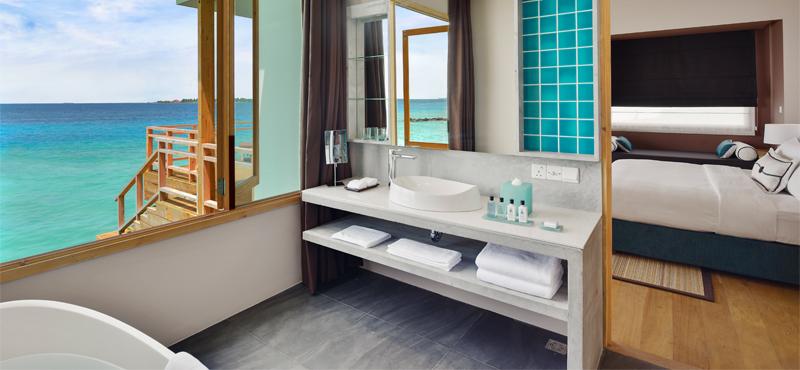 water villa - dhigali maldives - luxury maldives honeymoons