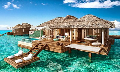 Honeymoon Style Over-Water Villas Unveiled In Sandals Royal Caribbean