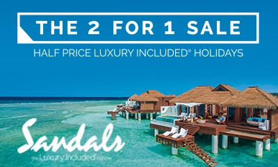 Sandals 2 for 1 Sale Now On