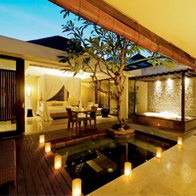 the amala seminyak - singapore and bali multi centre honeymoon package