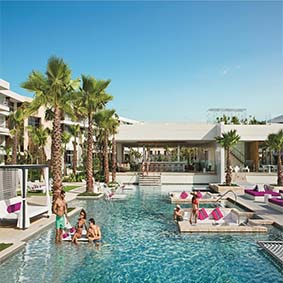Breathless Riviera Cancun resort and spa - Luxury Mexico Honeymoon packages - thumbnail