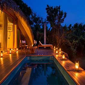 Uga Chena Huts Yala - Luxury Sri Lanka Honeymoon packages - Thumbnail
