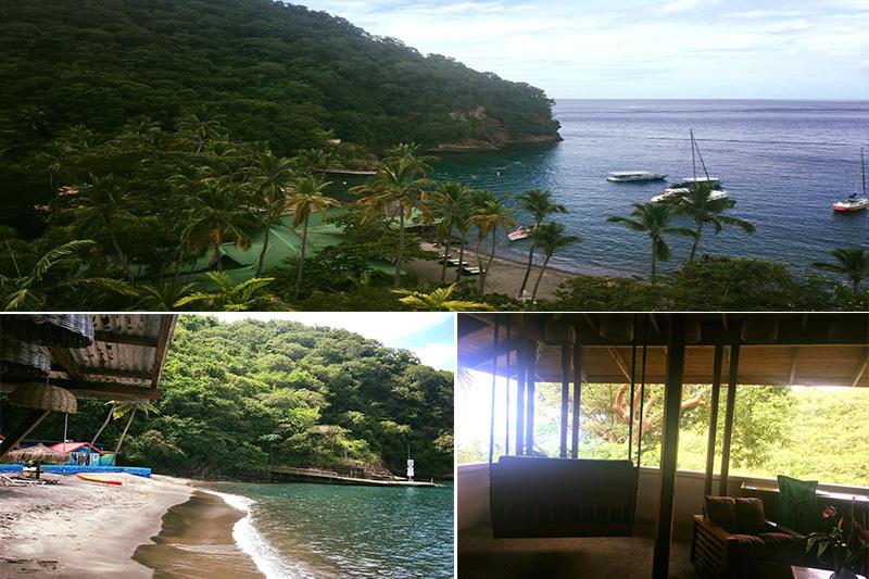 Natasha shares her experiences - St Lucia honeymoons - Anse Chastanet - location