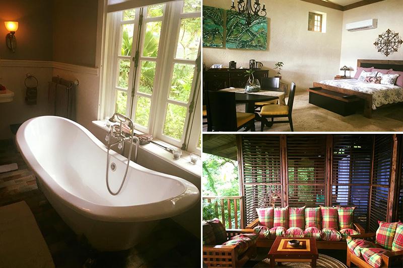 Natasha shares her experiences - St Lucia honeymoons - Anse Chastanet - room
