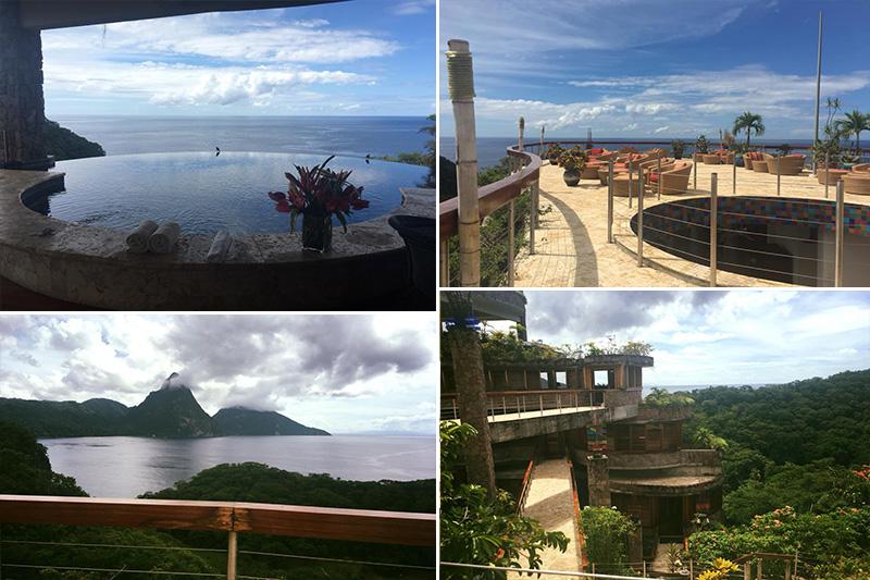 Natasha shares her experiences - St Lucia honeymoons - Jade Mountain - location