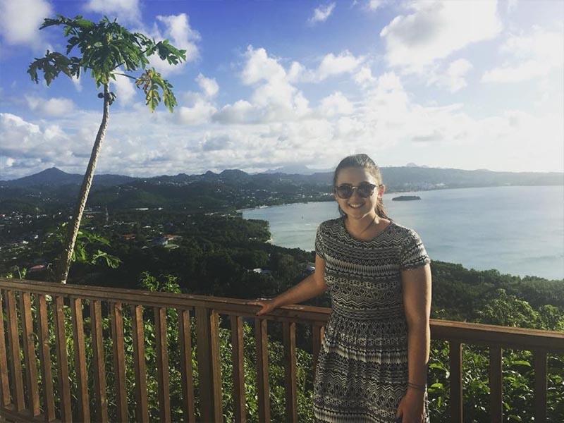 Natasha shares her experiences - St Lucia honeymoons - Windjammer landings - location