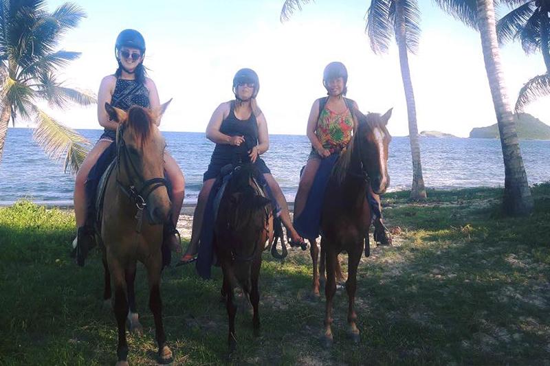 Natasha shares her experiences - St Lucia honeymoons - horseback riding