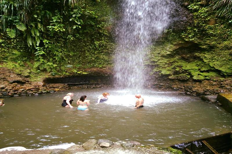 Natasha shares her experiences - St Lucia honeymoons - volcanic tour