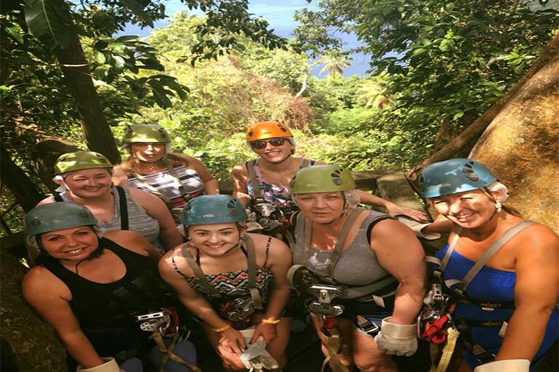 Natasha shares her experiences - St Lucia honeymoons - ziplining