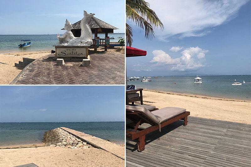 Abbies Bali Blog - Puri Santrian - beach