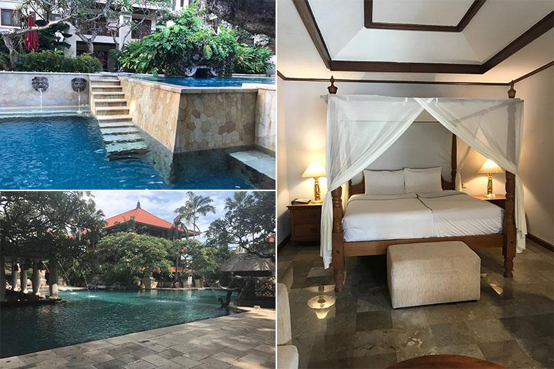 Abbies Bali Blog - Puri Santrian - rooms