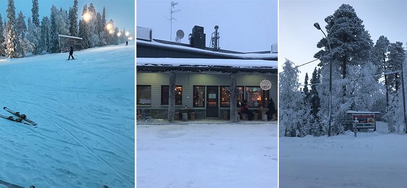 snow - abbie visits lapland - lapland honeymoon packahes