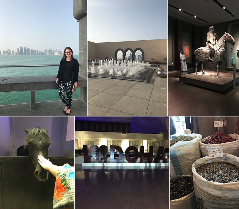 Abbie's Chiang Mai Thailand - Fam trip - Museum of Islamic art and the Souq Waqif