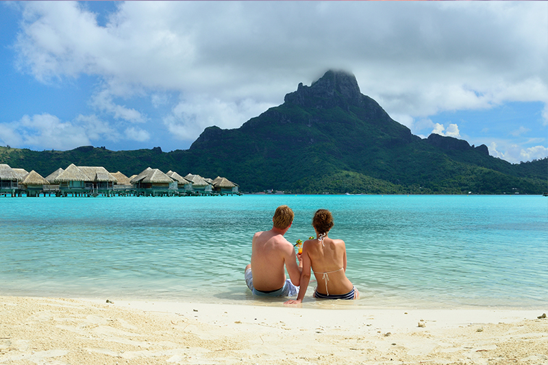 Bora Bora - top honeymoon destinations in 2018