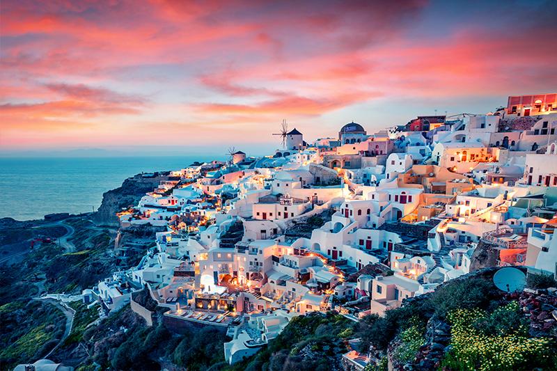 Greece - top honeymoon destinations in 2018