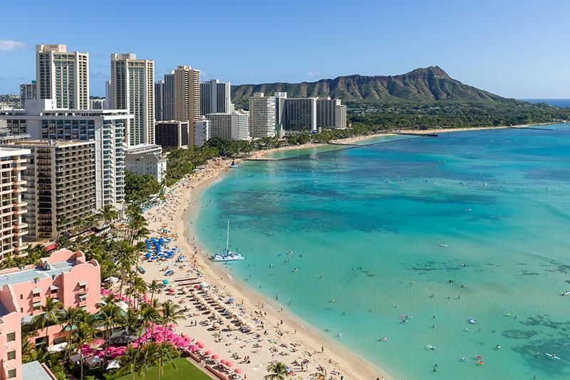 Hawaii - top honeymoon destinations in 2018