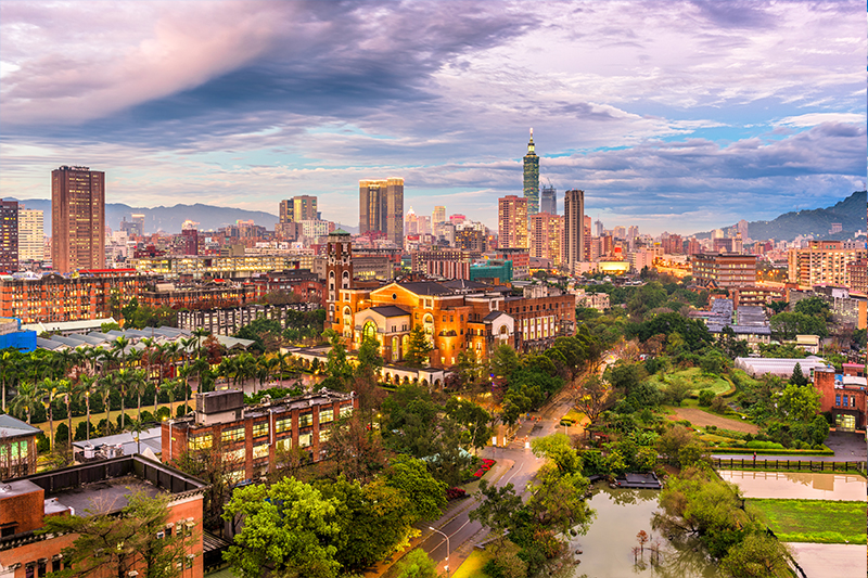 Tai Pei - top honeymoon destinations in 2018
